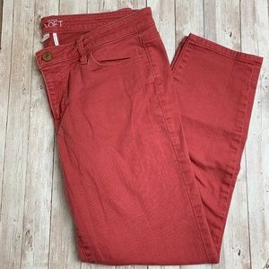Loft Jeans Size 32 / 14 modern skinny ankle